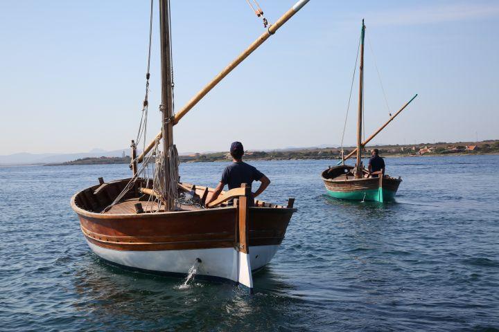 Escursioni Asinara -  Gite Asinara in gozzo a vela latina